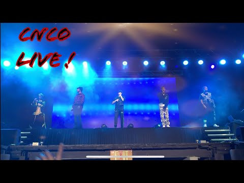 CNCO Live At Six Flags NJ
