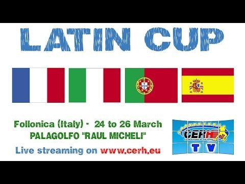 Latin Cup - France vs Italy 1-4