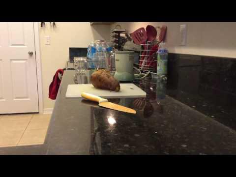 Pear and Potato Puree Baby Food