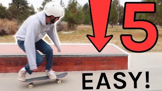 5 EASY Ledge Tricks to Learn TODAY!