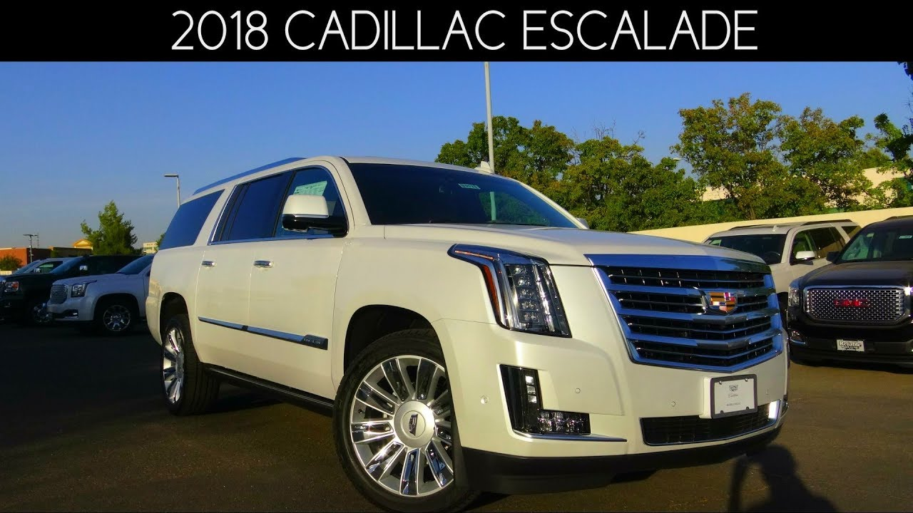 2018 cadillac escalade esv platinum 6 2 l v8 review youtube. Black Bedroom Furniture Sets. Home Design Ideas