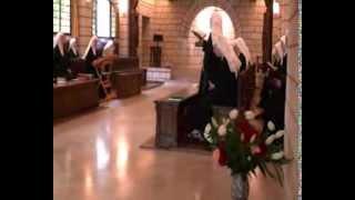 Prière office, oratoire du Monastère Sainte Françoise Romaine