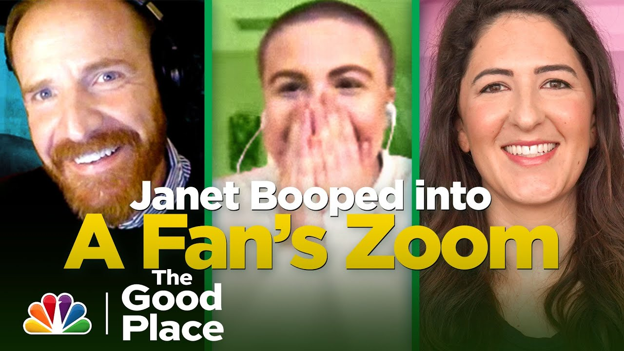 D'Arcy Carden Surprises a Fan in the Best Way - The Good Place: The Podcast