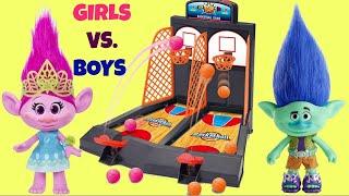 SKEE Gumball Machine Arcade Game! Trolls vs Paw Patrol | Toys Unlimited