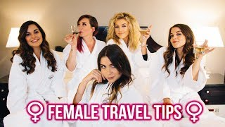 FEMALE TRAVEL Q&A ! Ladies you NEED to know THIS..