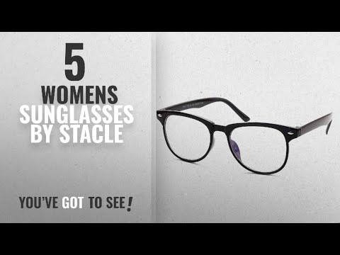 Top 10 Stacle Womens Sunglasses [2018]: Stacle UV Protected Rectangular Spectacle Sunglasses For