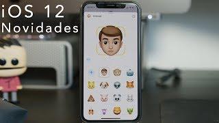 Algumas das novidades do iOS 12