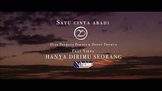 HANYA DIRIMU SEORANG - 2D Featuring Viena (Official Lyric Video)