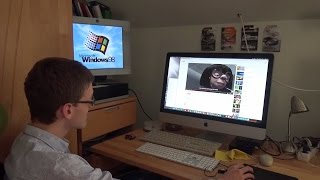 Installing Windows 98 in 2017