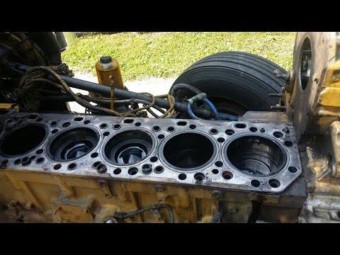 #2. Капитальный ремонт двигателя, Катерпиллер 3406Е / С15. Caterpillar 3406E / C15 Inframe Overhaul.