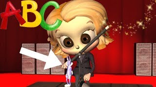 ABC Song | ABC Magic Show for Kids and Nursery Rhymes for Children