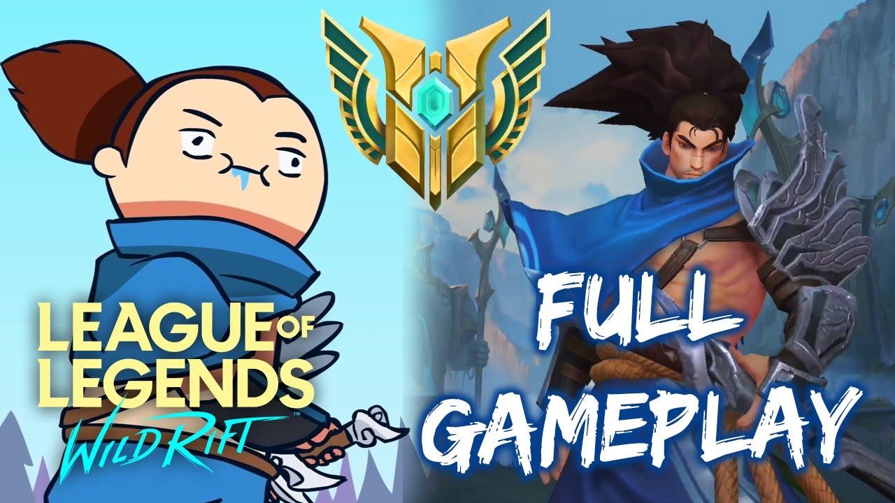 LoL Wild Rift YASUO is FUN! – Full Gameplay [Alpha test]
