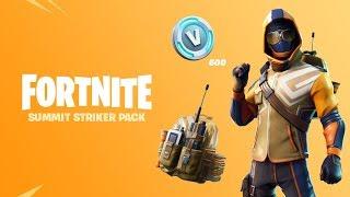 Fortnite Started Pack #4 Summit Striker con Logan