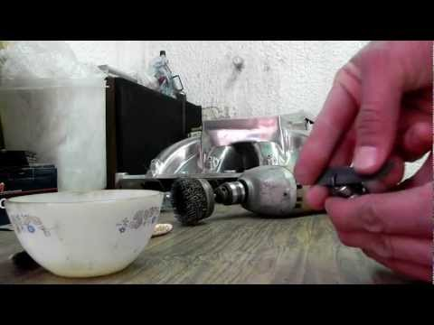how to clean spark plugs with wd40