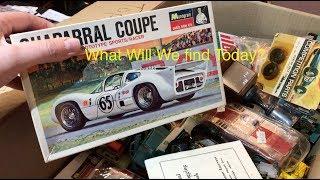 Morning Treasure Hunting, Slot Cars, Movie Posters And More!