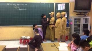 Vở kịch lòng dân, lớp 5E Trường tiểu học KimĐồng