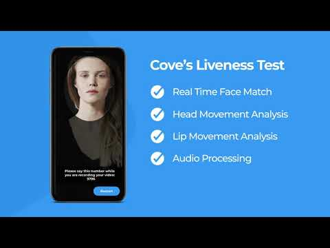 Cove Identity's eKYC Solution Explainer