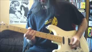 Metallica - Poor Twisted Me - guitar cover - Full HD