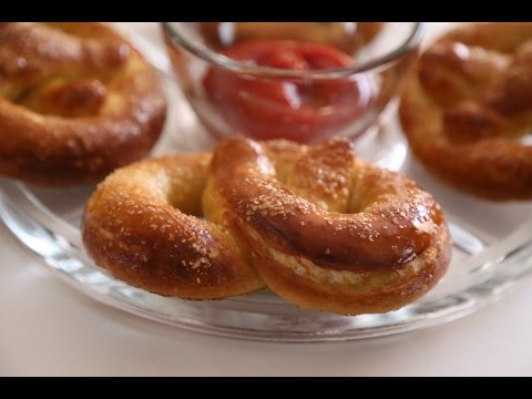 How to bake Old Fashion Soft Pretzels Recipe by Heghineh