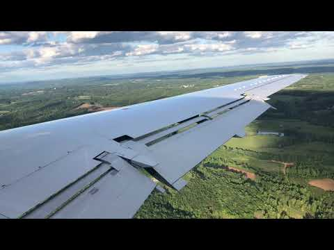 Piedmont /American Eagle EMB-145 Landing Lynchburg KLYH