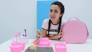 Gambar cover Barbie ile oyun. Sevcan'nın SPA Salonu evde hizmet yapıyor!