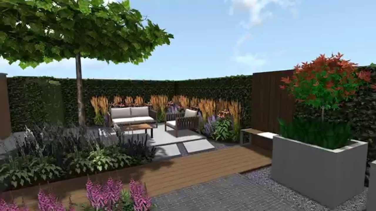 Bt hoveniers 3d tuin ontwerp youtube for Ontwerp 3d