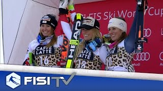 Highlights | Nadia Fanchini ritrova finalmente il podio a La Thuile | FISI Official