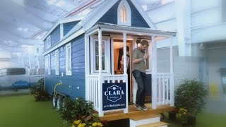 Tiny Houses At The New York Auto Show -- Take A Tour With Newcarnews.tv