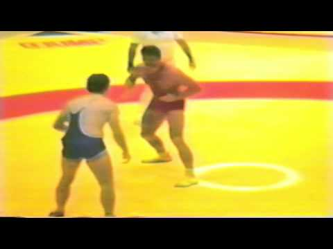1987 Senior World Championships: 100 kg Istvan Robotka (HUN) vs. Clark Davis (CAN)