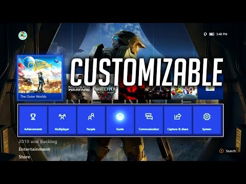 NEW Customizable Xbox One Dashboard UPDATE | Xbox Guide Tabs