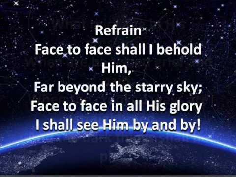 Face to Face - Hymn (Lyrics and Music)