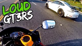LOUD PORSCHE 911 GT3 RS | GOLD YAMAHA R6