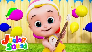 Laughing Baby Song | Funny Song | Family Fun + More Nursery Rhymes & Kids Songs - Junior Squad