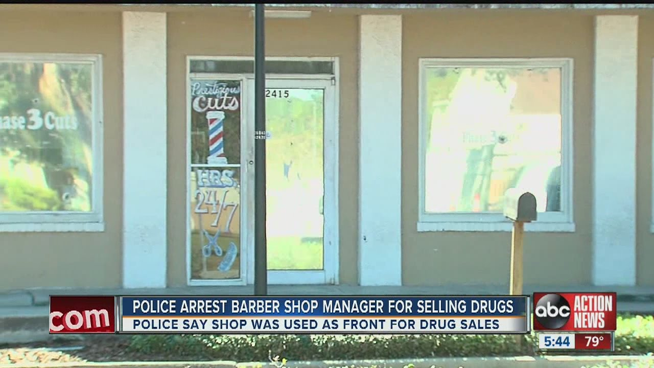 Police Bust Black Owned Barbershop For Dealing Marijuana