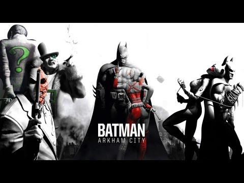 All Batman: Arkham City Cutscenes Movie {HD}