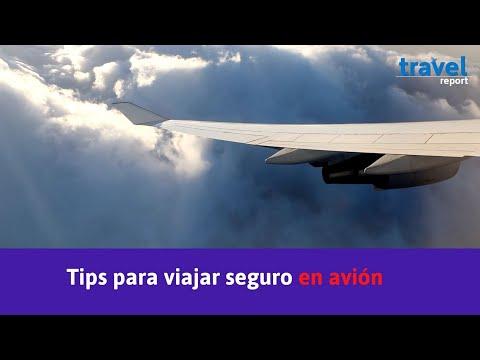 5 prácticos tips para viajar en avión
