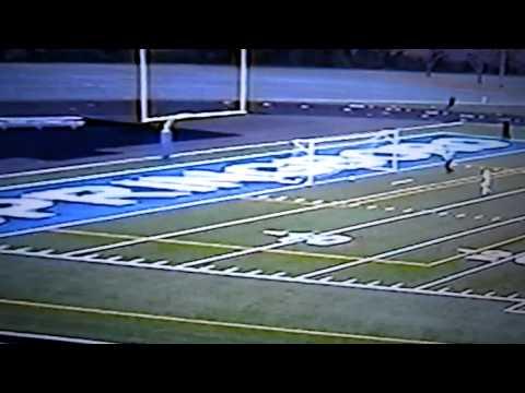 Freshman Andrew Elsner 30 Yard Goal