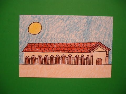 Let's Draw the San Fernando Mission!