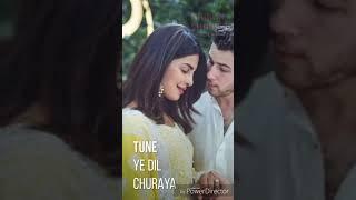 Priyanka Chopra Nick Jonas Wedding Whatsapp Status || Romantic Newly  Married Couple Status