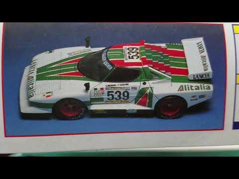 48 hour group build entry video! Gunze Sangyo's Lancia Stratos G5 Turbo!!