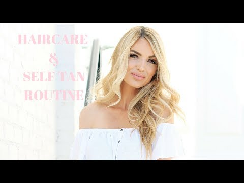 MY FAVORITE SELF TAN AND HAIRCARE PRODUCTS
