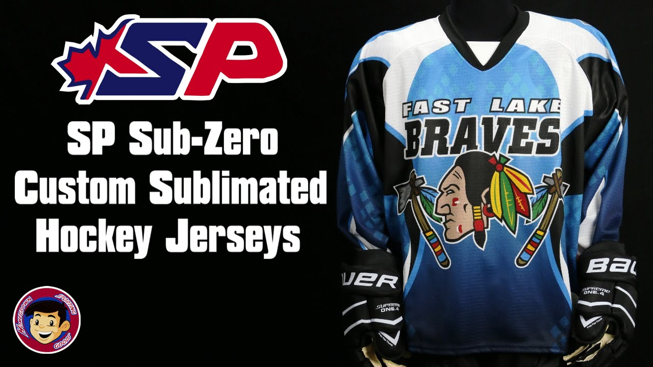 SP Sub Zero Custom Sublimated Hockey Jerseys - Homegrown Sporting ... 2a05b5969