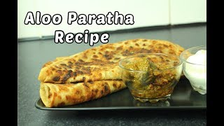 ALOO PARATHA - Punjabi Dhaba Style Breakfast Recipe *COOK WITH FAIZA*
