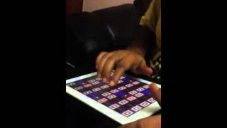 Playing music on iPad - Fast Indian phrases - Navneeth Sundar