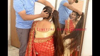 Traditional House Wife with Eternal Long Hair Play..watch full promo