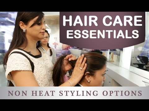 how to style your hair without heat how to style your hair without heat in malayalam 7188