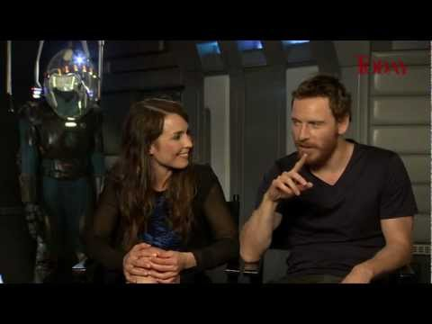 TODAY speaks to Prometheus stars Noomi Rapace and Michael Fassbender