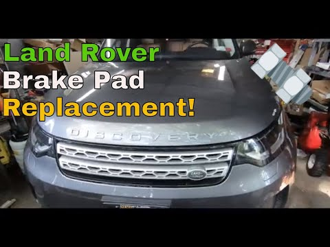 2017 Land Rover Discovery Brake Pad Replacement