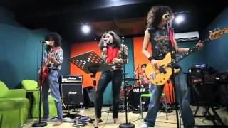 GRIBS studio rehearsal - Always There For You (Stryper Cover)