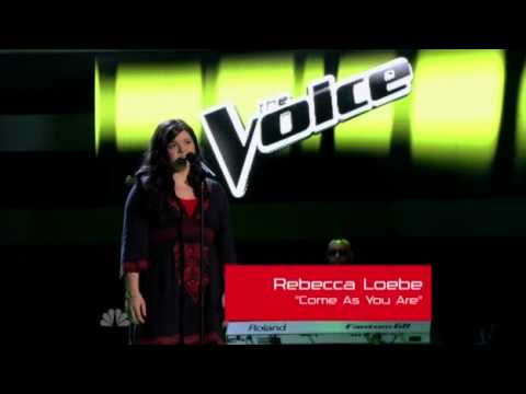 Rebecca Loebe - Come As You Are - The Voice U.S. Blind Auditions